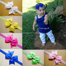 Top Baby Headband With Boutique Grosgrain Hair Bow CNHB-1408265