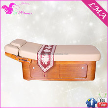 Flexible new coming massage table wooden Cosmetic massage Bed MD6202