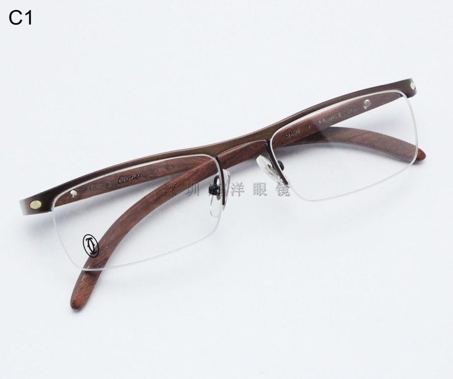 mode brillen titan holz brillen rahmen gewicht licht. Black Bedroom Furniture Sets. Home Design Ideas