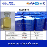 Free sample--- Food grade Tween 80 from Factory Directly