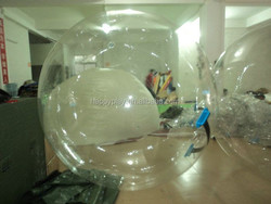 New giant water ball/inflatable clear plastic water ball for sale