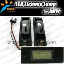 High Power 7000k 12v LED License Plate Light, Auto Car Light For BMW E63/E64/E81/E85/E86/E87