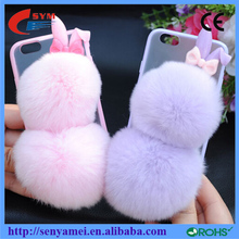 Ultra-Thin Clear Hard Phone Case Cover For Apple iPhone Plush Case