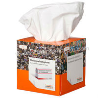 10cm Cube Fancy Drawer Paper Cardboard Tissue Box
