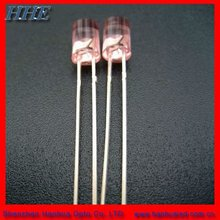 Hot sell 5mm 520nm green Flat top led with ROHS