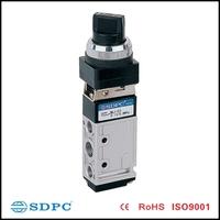 JMJ series pneumatic control valve,5 ways selective mechanical valve JMJ-01