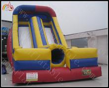 Backyard Kids Double Slide Residential Grade Inflatable Slide Wet Dry Tunnel Climbing Slide