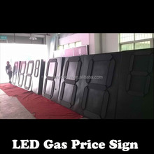 led numbers module display gas price sign numbers /led gas price Led Fuel /diesel Price Signs,Led Gas Station Display