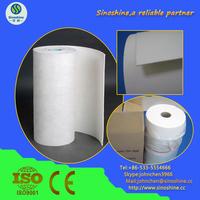 thermal insulation ceramic fiber paper for Molten metal splash protection
