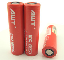 galaxy note 2 AWT 18650 battery 35A 3000mah ,18650 battery galaxy note 2, bulk buy from china battery 18650