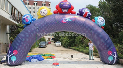 Advertising/promotional event inflatable arch/with monkey animal/cartoon/model/8m(W)*3.2m(H) W1031
