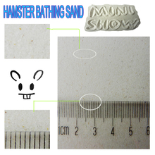 Hamster bathing sand accessories for hamster