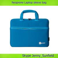14 15 inch neoprene laptop messenger bag with handle , neoprene laptop bag sleeve