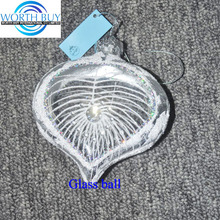 Clear glass christmas balls names wholesale from Shenzhen factory