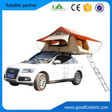 High quality waterproof technology grid cloth such as cotton canvas car roof tent camping