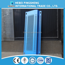 Perforated Technique and punched Weave Style wind proof dust suppression wall mesh,dust control mesh,dust filter mesh