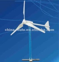 High efficiency hybrid solar wind power generation system