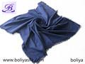 100% algodón liso hombres amplia bufanda de algodón
