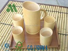 Bamboo Beer Mug and Cups