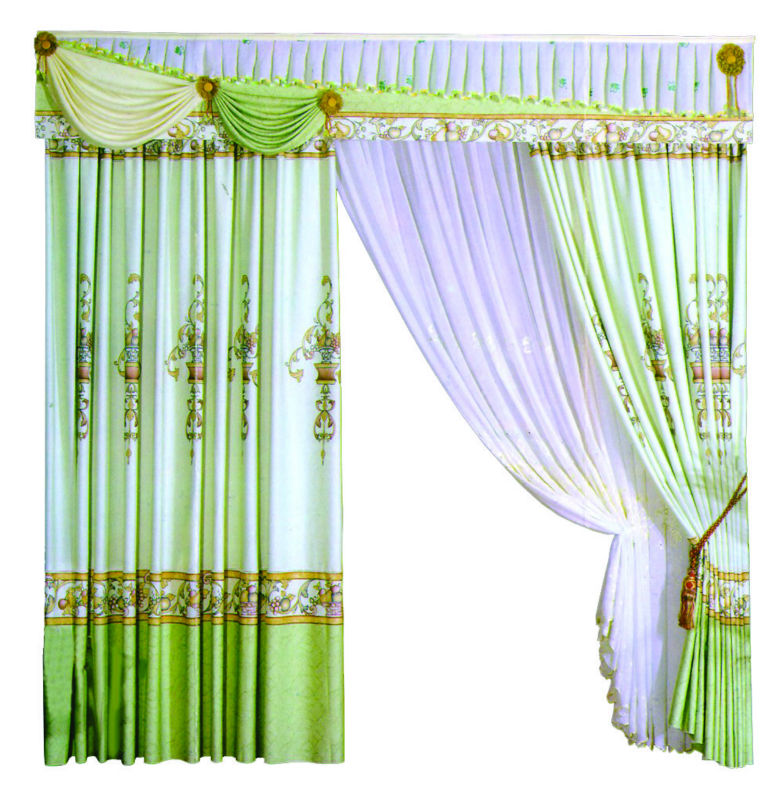 Automatic window curtains