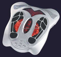 003A Foot reflexology massager acupuncture infrared vibration with remote control and slimming belt