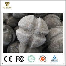 China improve molten steel slag ball for converter