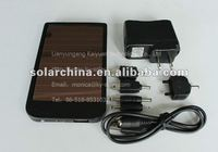 Hot selling item in overseas market of solar recharger