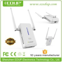 EDUP 750Mbps dual band 2.4/5.8Ghz wireless wifi repeater signal repeater booster amplifier