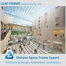 Skylight dome steel structure shopping mall