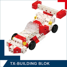 education block set - toy plastic diy learning tools