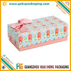 Cardboard gift box for baby cotton towel