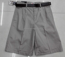 wholesale mens casual shorts with belt