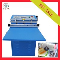 Bag vacuum inflatable nitrogen packing machine for food