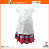 Hot sale high quality girls clothing set baby clothing children boutique clothing