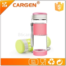 Multifunctional wide mouth empty 500ml plastic water bottle for travel