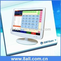 White Cover 15 inch Touch screen USB monitor, 15 POS touch display