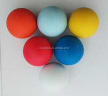 colorful rubber bouncing ball
