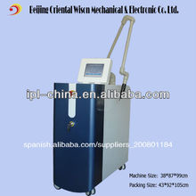 585nm 650nm 1064nm 532nm activo eo q- interruptor láser equipo de la belleza