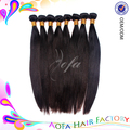 Spicy 100% cabelo virgem do cabelo humano virgem brasileira onda reta, natural cabelo liso