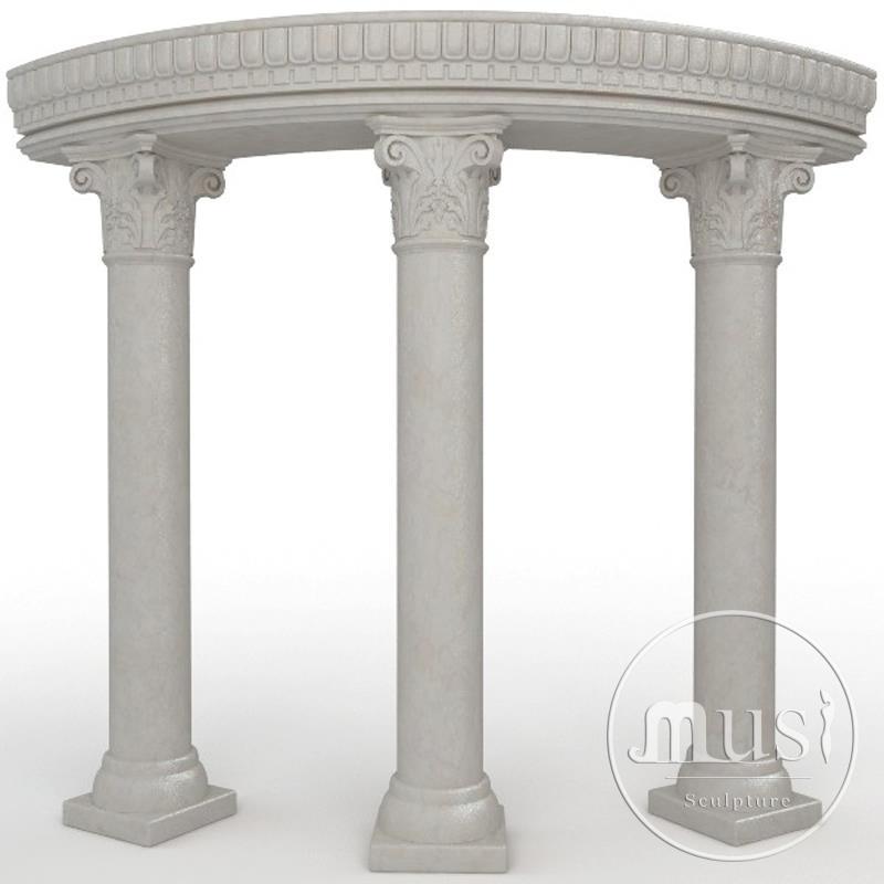 achitectural marble balcony column