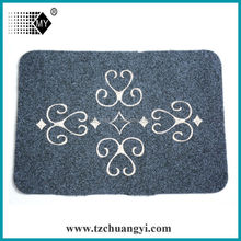 100%polyester printed door mat