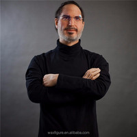 Lifelike Steve Jobs Resin Wax Figure