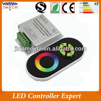 Hot selling DC12V 18A led rf remote touch rgb controller