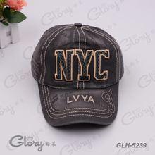 Hight quality fashion soft washed cotton cap men hat