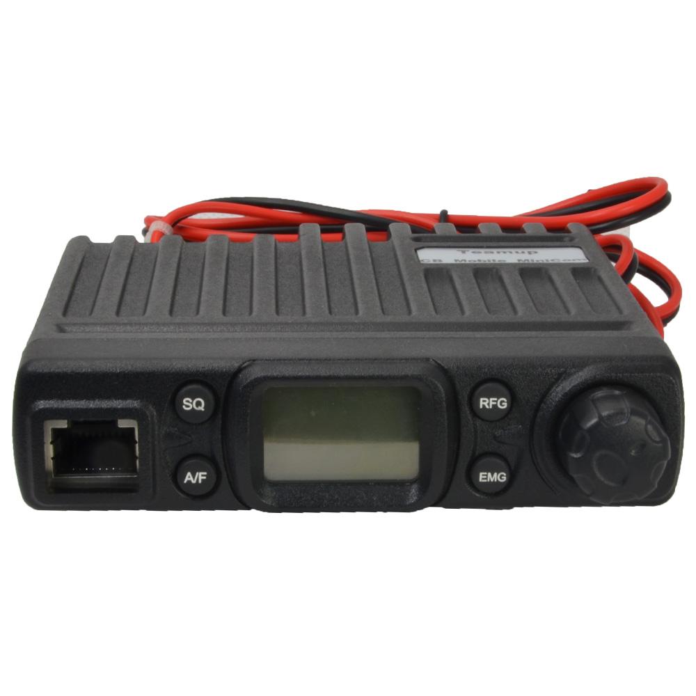Teamup Inteligente CB Rádio com AM/FM Mode. 15 Metro, 26.565-27.99125 MHz, 5 Watt