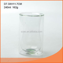 Excellent quality new arrival wholesale double wall glass tumbler