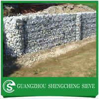Widely use pvc coated hexagonal mesh galvanized wire rock baskets