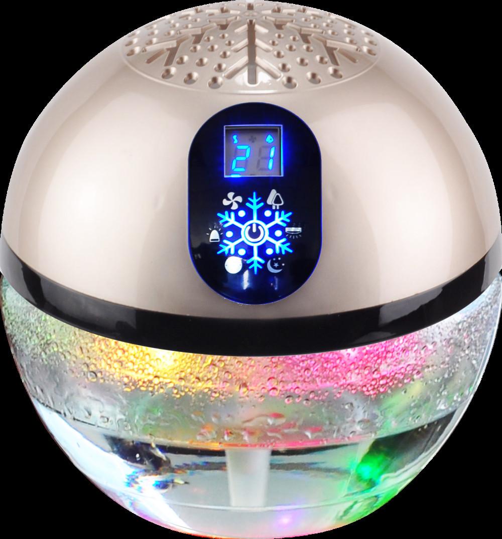Water globe air freshener and purifier