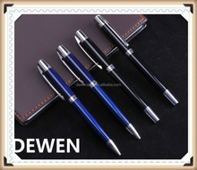 signature metal pair pen,high level metal fountain pen,traditional metal ball pen