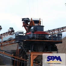 Government Approved large capacity sand vertical crusher for sale